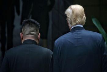 ماجرای ویدئویی که ترامپ به رهبر کره شمالی نشان داد
