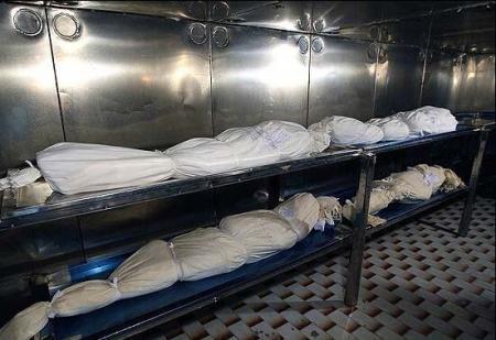 عکس/ فوت شدگان کرونا آماده تحویل به سردخانه شیراز!