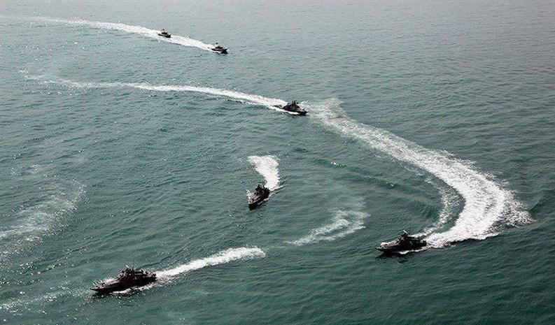 رزمایش دریایی سپاه در خلیج فارس تأیید شد