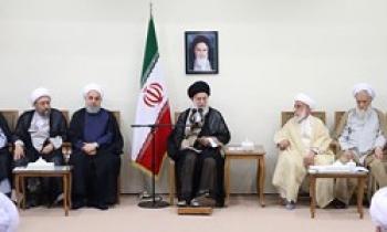اعضای مجلس خبرگان با رهبر معظّم انقلاب دیدار کردند