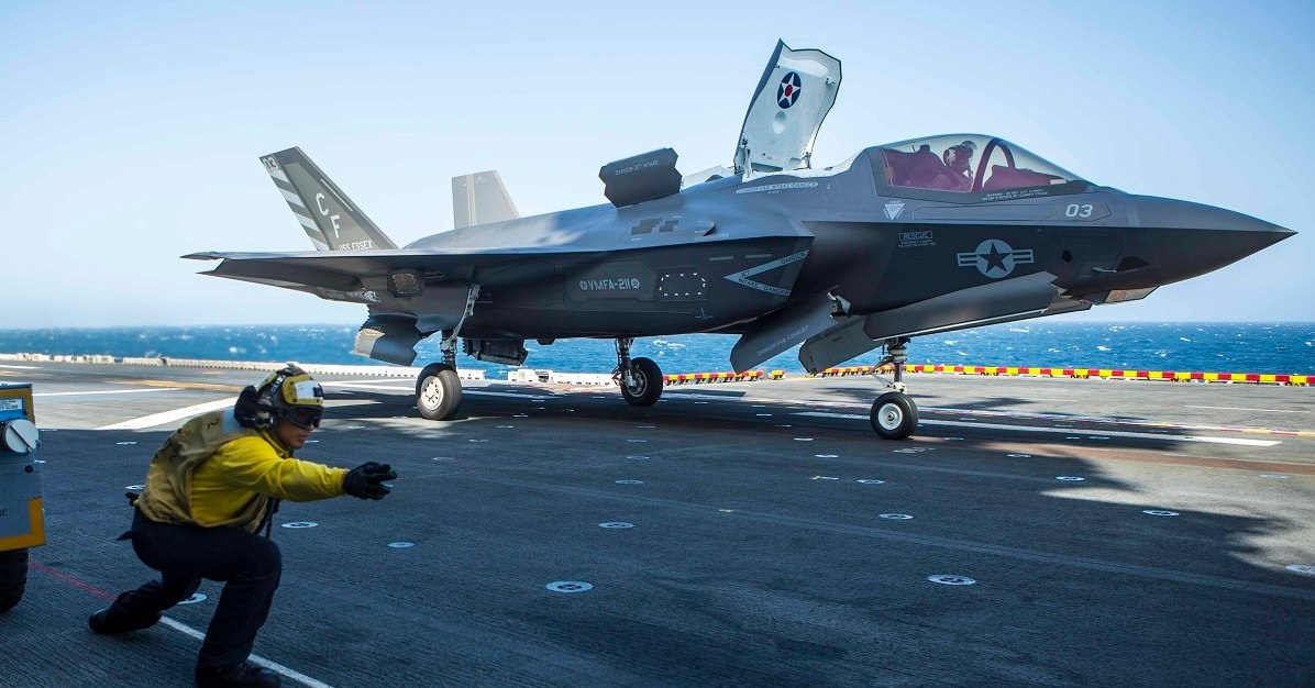 ورود جنگندههای اف-35 آمریکا به خلیجفارس برای اولین بار