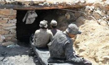 اتاقک محل استراحت کارگران معدن کرمان ناایمن بوده است