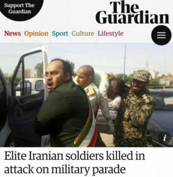 الجزیره: احتمالا عربستان سعودی پشت حادثه تروریستی اهواز است/ سی ان ان سعی دارد حادثه را به اختلاف شیعه و سنی مربوط بداند