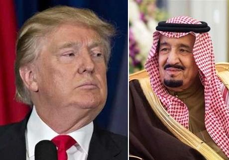 ترامپ به پادشاه عربستان هشدار داد