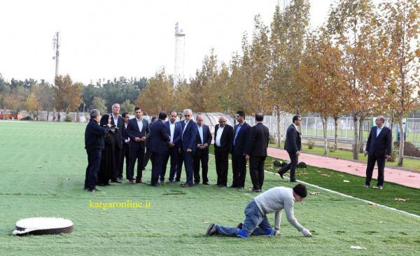 کارگر متعهد ایرانی رئیس کنفدراسیون فوتبال آسیا را متعجب کرد!+عکس