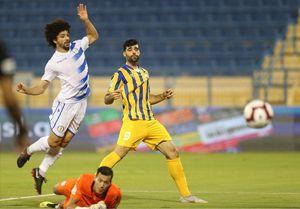 حمله قطریها به بازیکن ایرانی