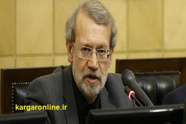 لاریجانی ایران را ترک کرد