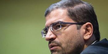 ایران با تحریمهای ظالمانه ترامپ هیچ وقت زیر بار سازش با آمریکا نمی رود