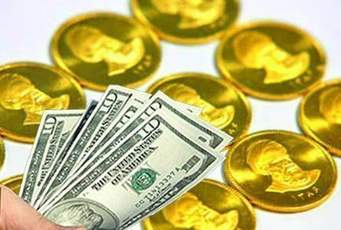 قیمت طلا و دلار در سراشیبی/ قیمت امروز طلا و دلار در بازار آزاد