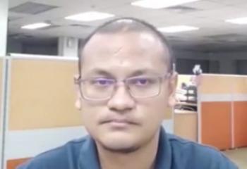 صحنه عجیبی که کارمند تنها در شرکت با آن مواجه شد