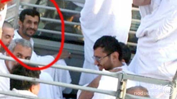 انتقال احمدی نژاد در عربستان با وانت ! + عکس