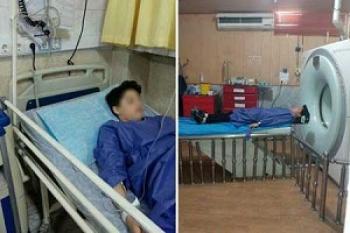 دانشآموز قزوینی، زیر مشت و لگد آقای مدیر!+عکس