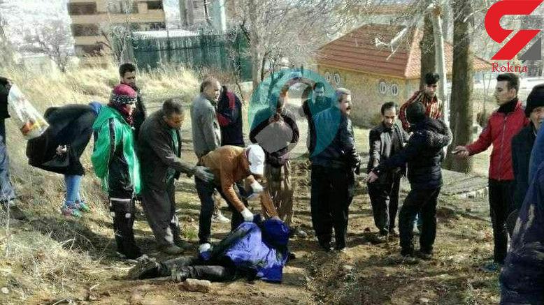 مردی زن جوان را در پارک سنندج سلاخی کرد + عکس تکاندهنده جسد زن