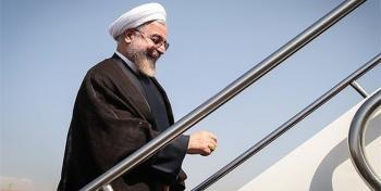 بالاخره سیل روحانی را از قشم به تهران کشاند