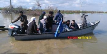 نیروی دریایی تخلیه روستاهای خوزستان را آغاز کرد+عکس
