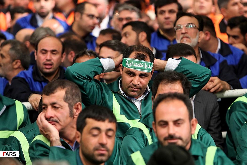 عکس/دیدار کارگران با رهبر معظم انقلاب اسلامی