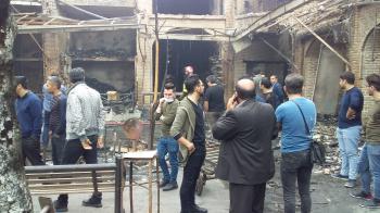 فوری/ علت آتش سوزی بازار تبریز مشخص شد +عکس