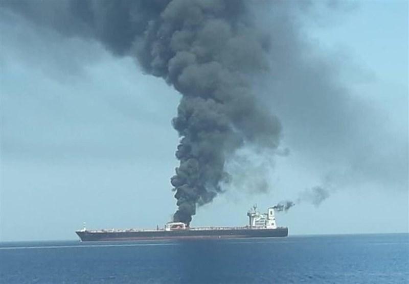 فوری/مسئول انفجار نفتکش ها در دریای عمان مشخص شد+تحلیل