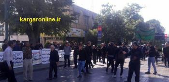 آخرین وضعیت اعتراض کارگران کنتور سازی قزوین/نه مطالبات را می پردازند نه تولید را شروع میکنند!