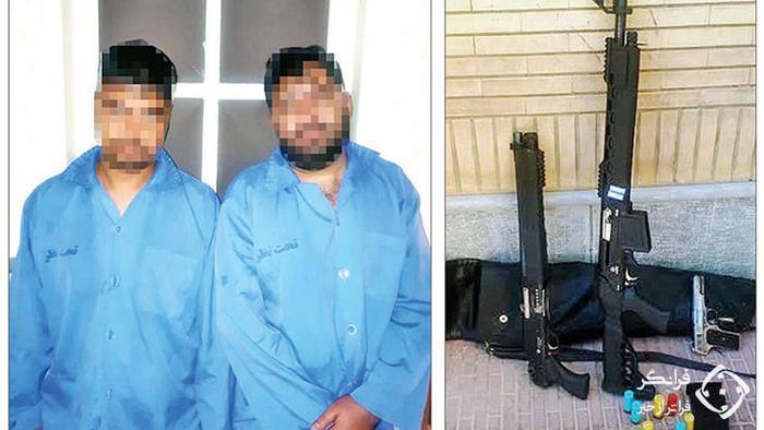 پلیس مشهد در شوک کشف بزرگ/دستگیری خلاف کار معروف با اسلحه جنگی+عکس