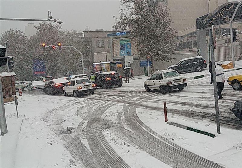 شهرداری تهران در برف امروز غافلگیر شد