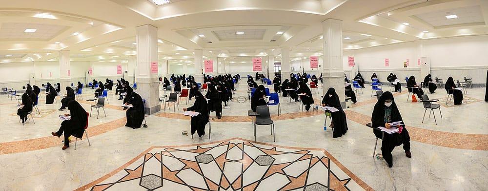 آزمون ورودی سطح چهار و دوره عالی فقه جامعه الزهرا برگزار شد