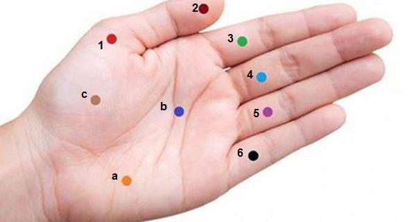 نقاط مشخص شده در دستتان را فشار دهید و با درد و مراجعه به پزشک فاصله بگیرید