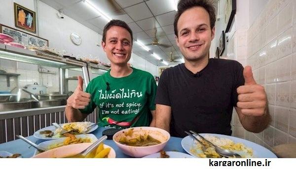 یکی از 20 چهره شناخته شده (شکم گرد معروف) در یوتیوب وارد ایران شد
