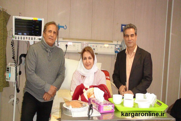 حادثه تلخ برای بازیگر سرشناس زن سینمای ایران در لرستان/بستری در بیمارستان +عکس