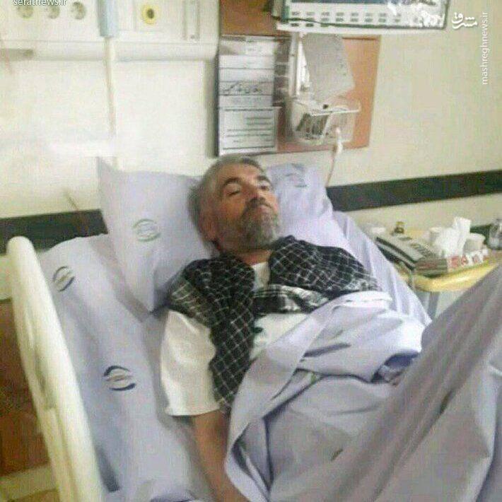 حادثه برای سردار معروف و بی حاشیه ی بسیج و سپاه/بستری در بیمارستان+عکس