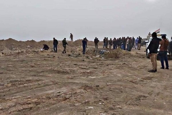 کشف یک کشتار دسته جمعی در فلوجه عراق+عکس