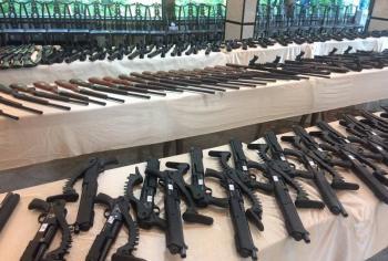 کشف نوعی اسلحه دیده نشده برای روزهای اغتشاشات/ توزیع عادلانه سلاحهای ویژه! +عکس