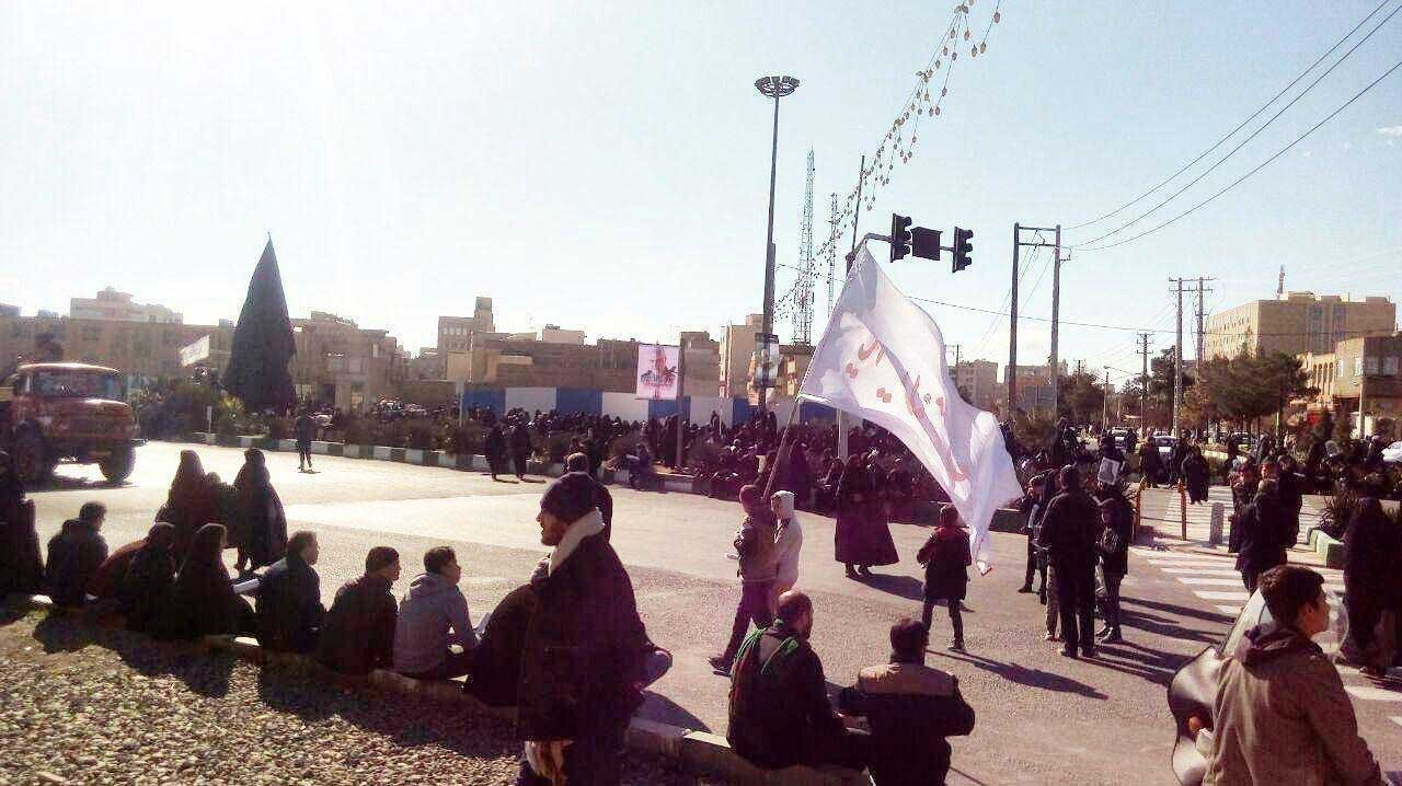 مردم قم چشم انتظار سردار شهید سلیمانی +عکس