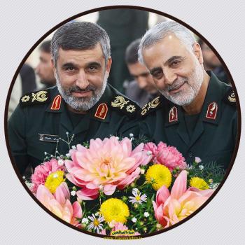 پروفایل/عکس سردار حاجی زاده و سپهبد شهید حاج قاسم سلیمانی