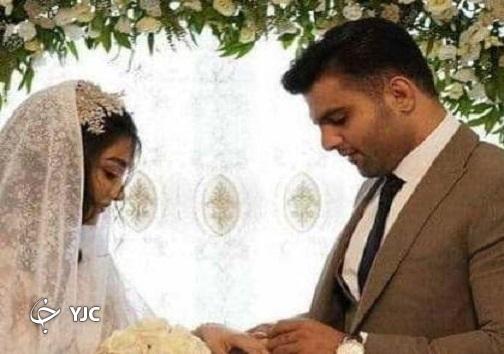 ازدواج علی شعبانی و زهرا یزدانی کشتی گیران مازندرانی + عکس
