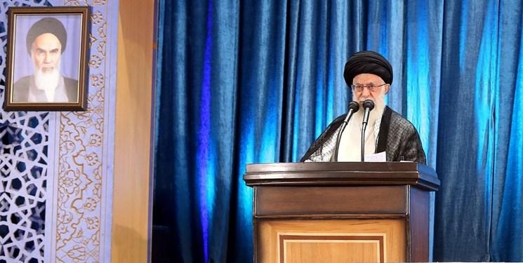 پوشش زنده نماز جمعه تهران از صدا و سیما و حسابهای KHAMENEI.IR