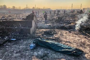 جدیدترین گزارش از سانحه سقوط هواپیما اوکراین منتشر شد