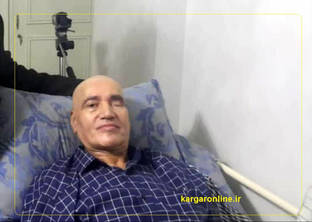 سردار حاج علی فضلی پس از عمل جراحی +عکس