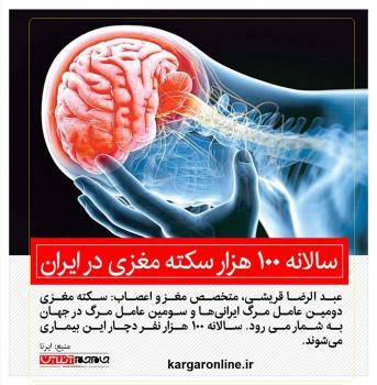 دومین عامل مرگ و میر ایرانی ها را بشناسید و از آن براحتی جلوگیری کنید