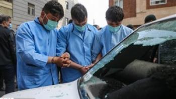 فرار دیوانه وار سارقان خودرو از چنگال پلیس در تهران