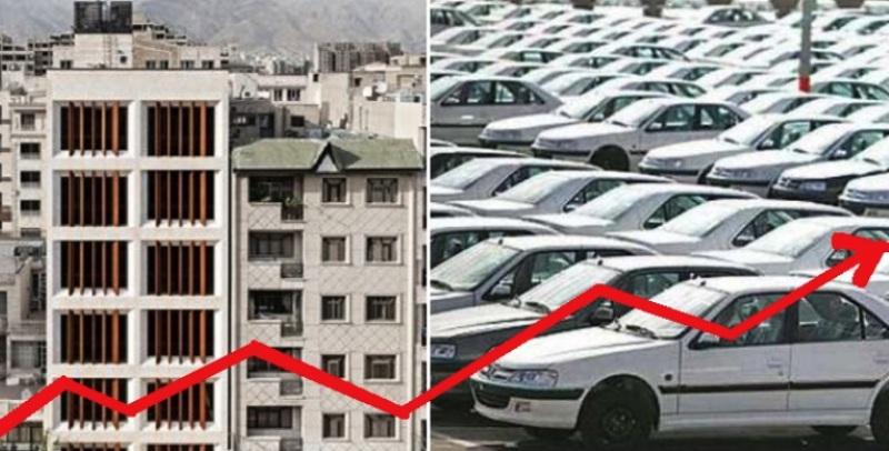 قیمت خودرو یا مسکن؛ کدامیک بالاتر رفته است؟/ احتمالا خودرو در سال 99 هم افزایش قیمت داشته باشد