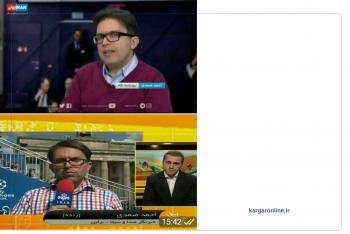 گزارشگر معروف ایرانی به شبکه ایران اینترنشنال پیوست+عکس
