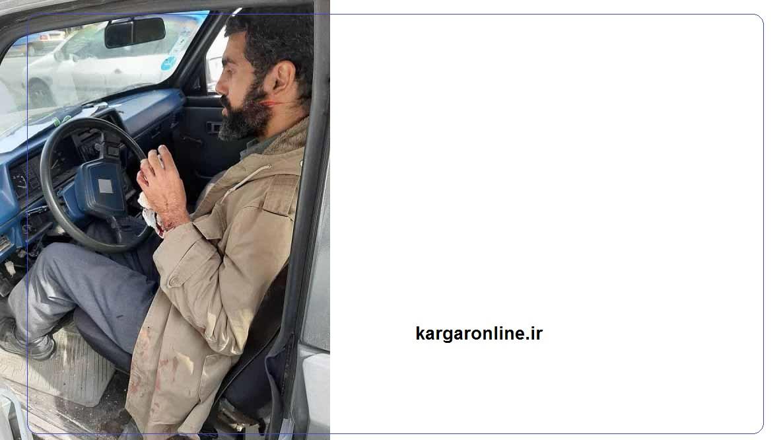 ترور نافرجام مسئول سایت شهدا+عکس