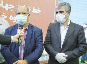 تشکر فرمانده ستاد مقابله در تهران از سایپا/ کیفیت و تنوع محلول ضدعفونیکننده سایپا بسیار بالاست