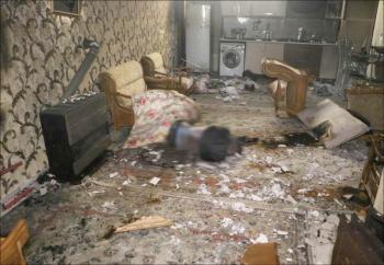 جنایت وحشتناک در خانه ویلایی!(عکس)
