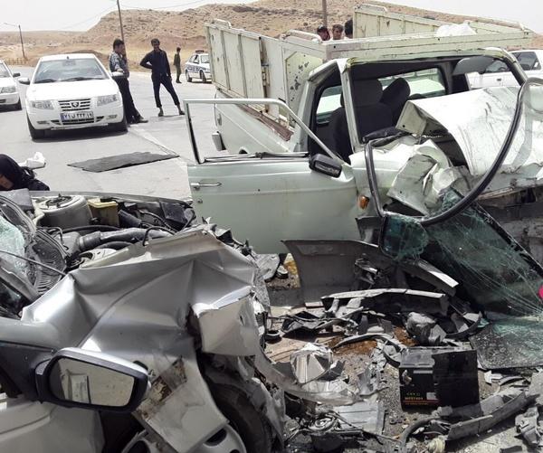 سانحه رانندگی در قصرشیرین یک کشته و چهار مصدوم برجا گذاشت