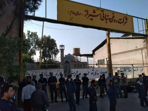 بهانه جدید برای کاهش تولید کارخانه روغن نباتی شیراز/ اخراج دوکارگر کارخانه در روزهای اخیر/ مؤیدی: گویا تا کارگران تجمع نکنند حقوقشان پرداخت نمیشود
