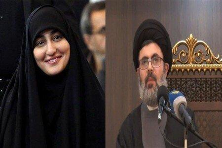 پدر همسر  زینب سلیمانی دختر سردار سلیمانی کدام مقام بلندپایه حزب الله است؟