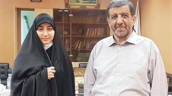 ضرغامی ازدواج دختر شهید سلیمانی را تبریک گفت