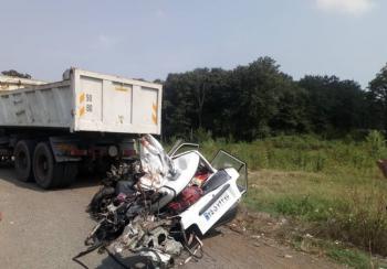 تصادف مرگبار در جاده سراوان - فومن/ 6 سرنشین پراید کشته شدند+ عکس